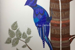 Blue Woodpecker