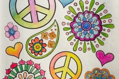 Peace-and-flowers