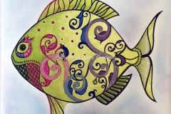 Fish with Swirls