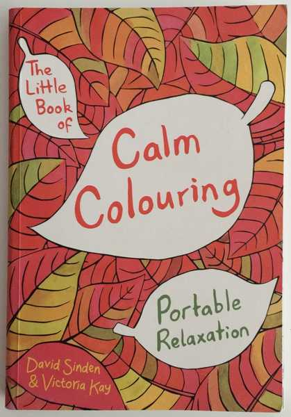 The Little Book of Calm Coloring Cover