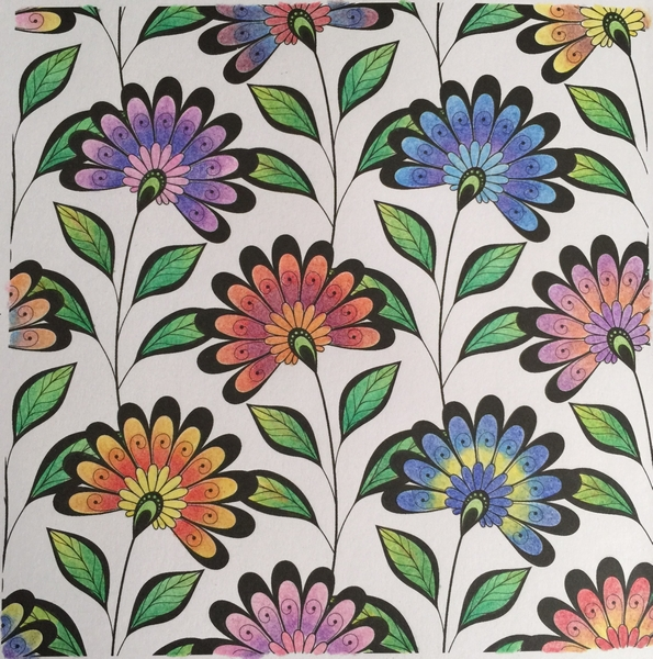 Prismacolor Flowers