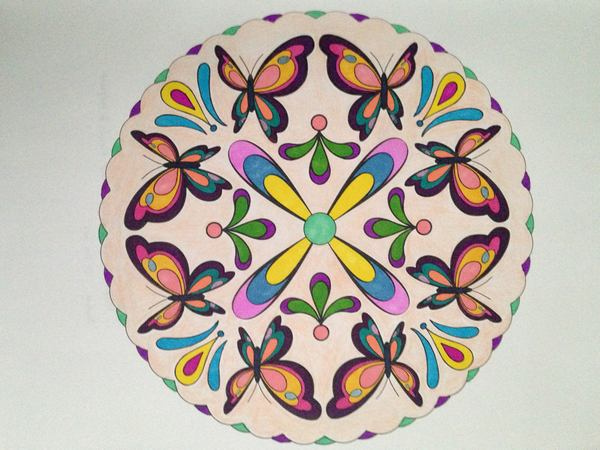 Anjelica's Butterfly Mandala