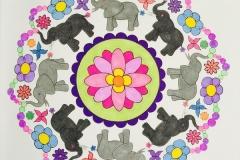 Elephant-Mandala