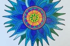 Glitter-Flower-Mandala