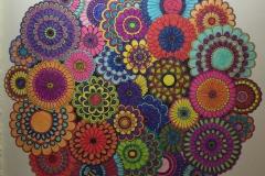 Secret Garden Flower Mandala