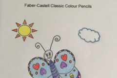 Test Picture Colored with Faber-Castell Classic Coloured Pencils