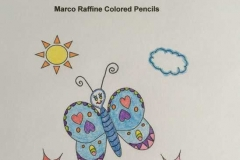 Test Picture Colored with Marco Raffine 7100 Colored Pencils