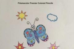 Test Picture Colored with Prismacolor® Premier Colored Pencils