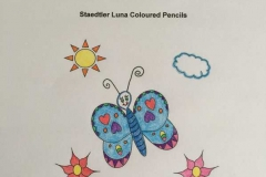 Test Picture Colored with Staedtler Luna ® Coloured Pencils