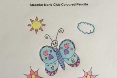 Test Picture Colored with Staedtler Noris Club ® Coloured Pencils