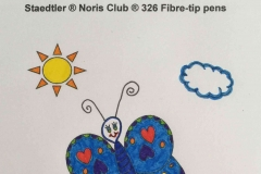 Test Staedtler Noris Club Fibre tips