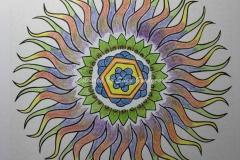 Multicoloured Sun