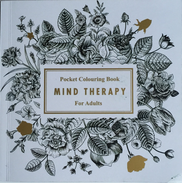 Mind Therapy Pocket Colouring Book For Adults